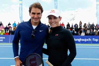 It all started with a Skype conversation between the Roger Federer and Olympic skier Lindsey Vonn regarding a tweet Vonn directed at Federer last October about how she would gladly play tennis with Federer if he would take to the slopes with her